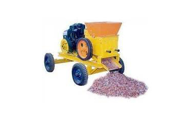 bricks crusher machine