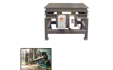 vibrating table for concrete molds