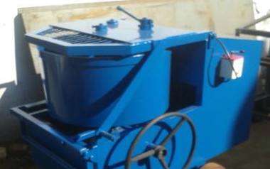 laboratory concrete pan mixer