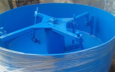 pan mixer for cement industry